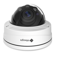 Remote Focus and Zoom IR Pro Dome Cameras (Microphone/P-Iris/7~22mm Lens Special Order) 5.0MP
