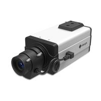 Day & Night Box Cameras (RS485 / Alarm & Audio I/O / 12VDC Optional / No-Lens ) 4.0MP